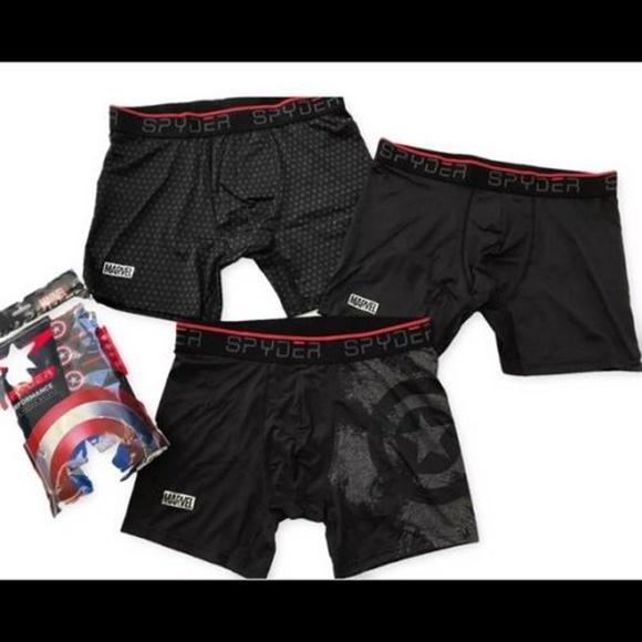 0e31b989f002 Spyder Underwear & Socks | Captain America Boxer Briefs Avengers ...